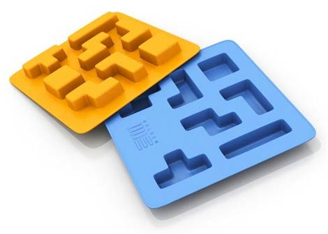 Tetrisformade isbitar