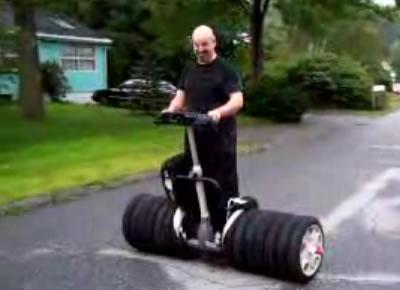 Segway med 14 hjul