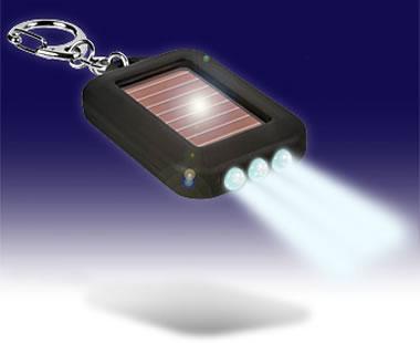 Ficklampa med solceller