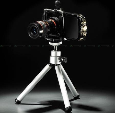 8x zoom för kameramobiler
