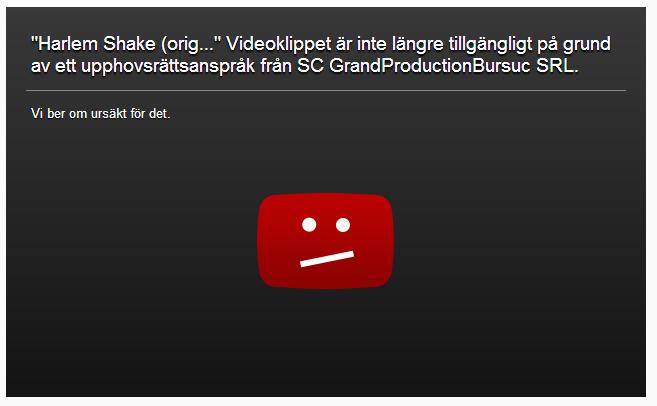 Harlem Shake YouTube