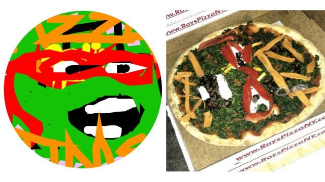 Måla din egen pizza