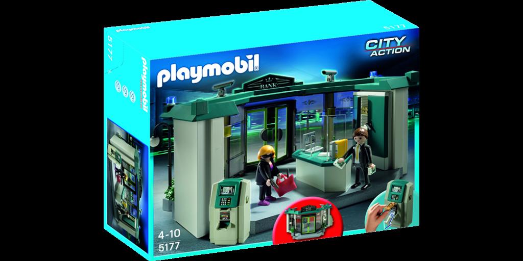 Playmobil bankrånare
