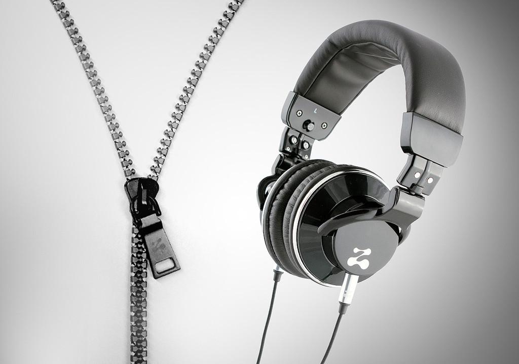 Zipbuds svarta hörlurar
