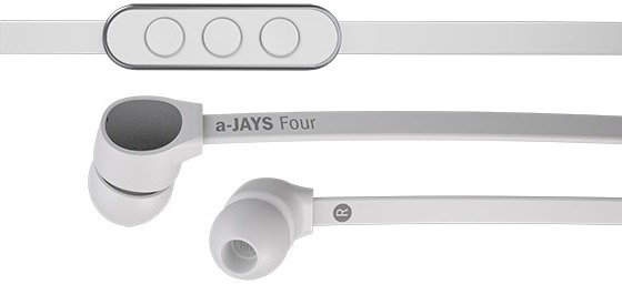 a-JAYS Four iPhone hörlurar