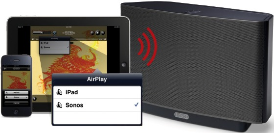 Apple AirPlay för Sonos