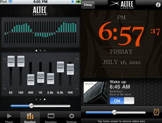 Music Mood- och Alarm Rock-appen
