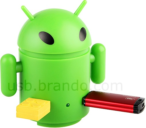 Android-inspirerad USB-hubb