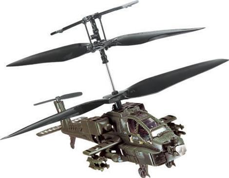Radiostyrd Apache-helikopter