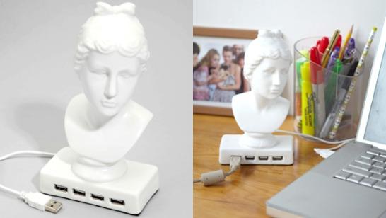 Afrodite USB-hubb