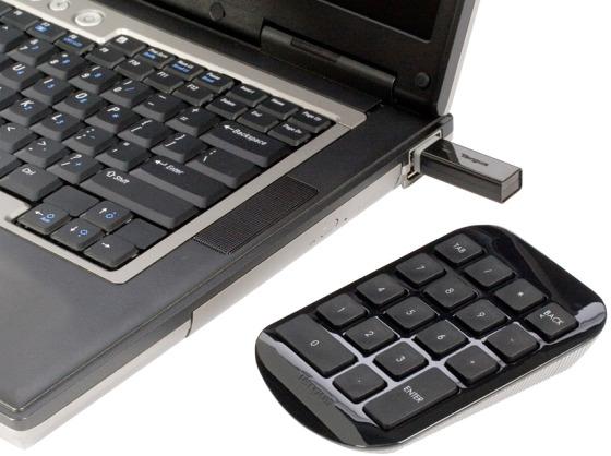 Trådlöst numeriskt tangentbord
