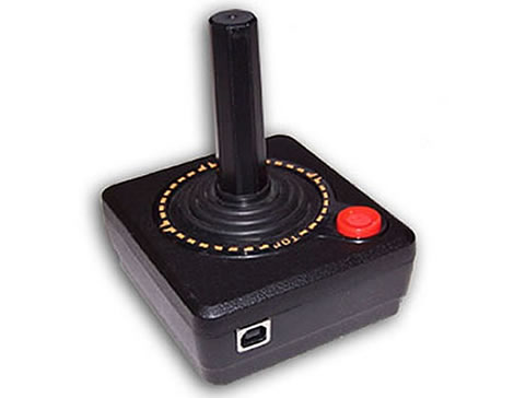 USB-version av klassisk joystick