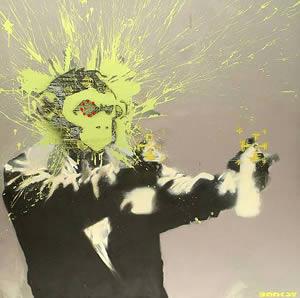 Banksy självporträtt