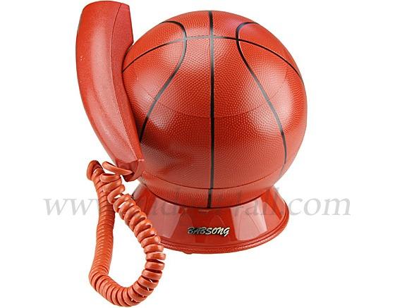 Telefon som ser ut som en basketboll