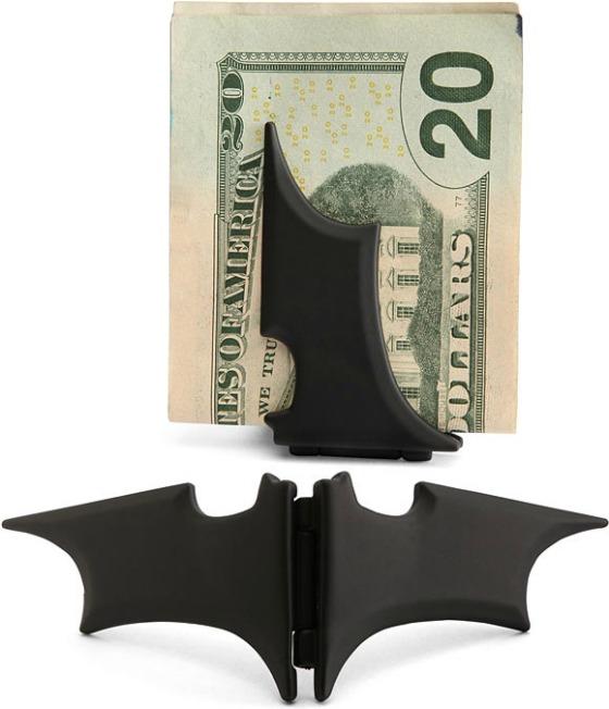 Batman-inspirerad sedelklämma