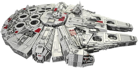 Ultimate Collector's Millennium Falcon