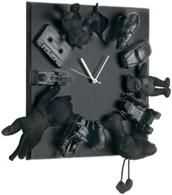 Black Treasure Clock