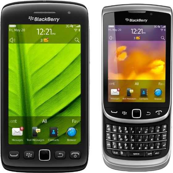 BlackBerry Torch 9810 och 9860