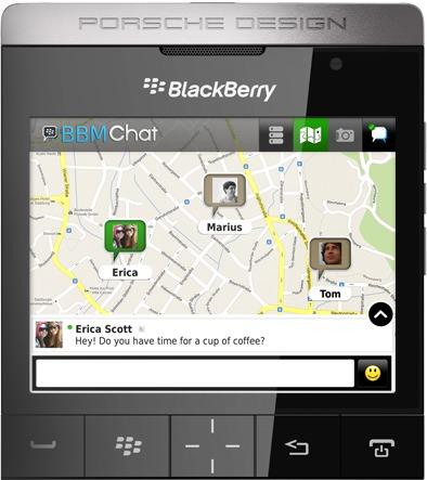 BlackBerry-mobil med Porsche-design