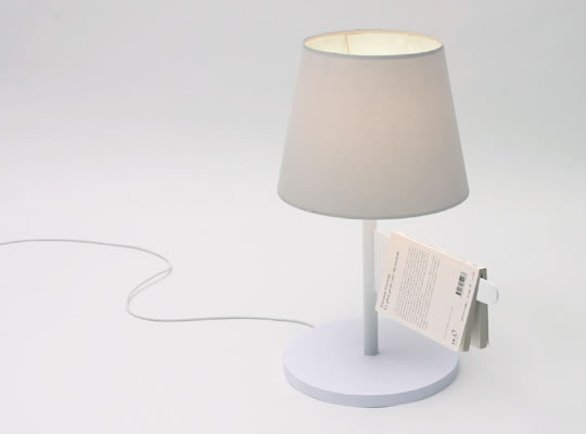 Smart läslampa
