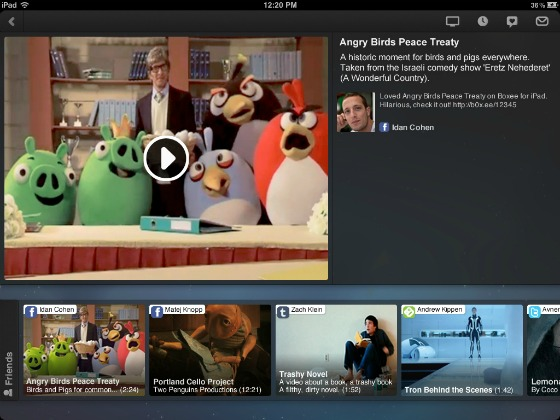 Boxee för iPad
