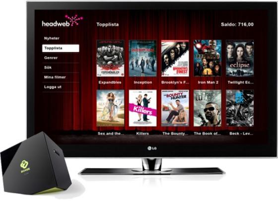 Headweb Boxee Box videobutik