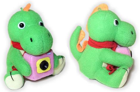 Dinosaurie som webbkamera