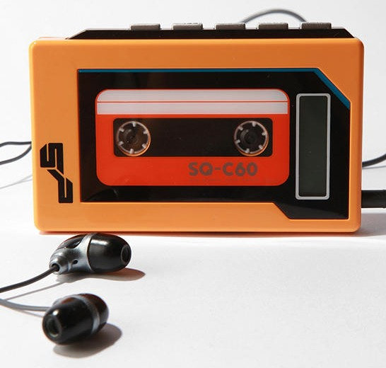 Mp3-spelare i Walkman-stil