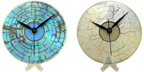 Sparkly CD-klocka
