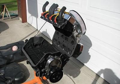 V8-grill