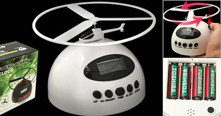 Helikopter som väckarklocka