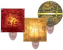 Lampor av kretskort