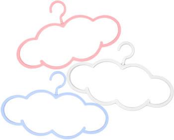 Klädhängare som ser ut som moln