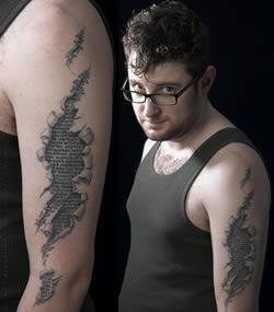 Cool tatuering