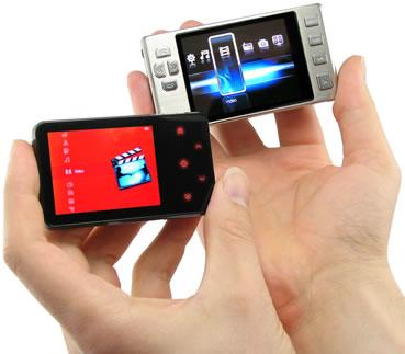 Liten digital videospelare