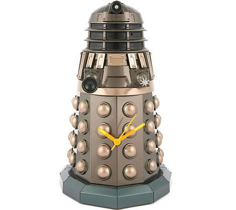 Dalek-klocka för Doctor Who-fans