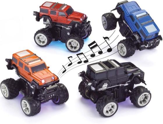 Dansande radiostyrda bilar