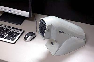 Luftkonditionering för skrivbordet