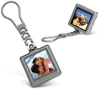 Nyckelring med digital fotoram