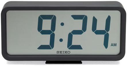 Digital väckarklocka från Seiko