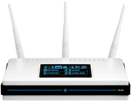 D-Link DIR-855 Quadband Wireless N Router