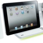 Stilig docka för iPad, iPhone och iPod från JVC
