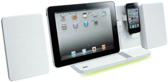 Docka för iPad, iPhone och Ipod från JVC
