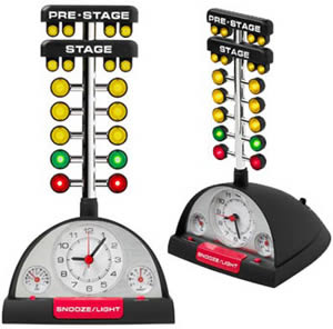 Drag Racing Alarm Clock