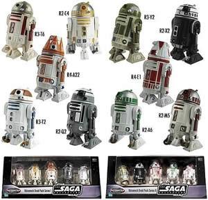 Star Wars droidsamling