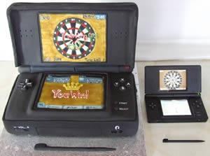 Nintendo DS-tårta