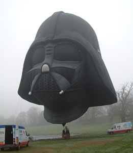 Darth Vader varmluftsballong