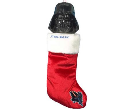 Julstrumpa med Darth Vader