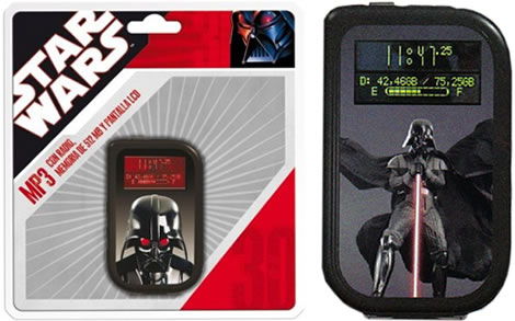 Mp3-spelare med Star Wars-tema
