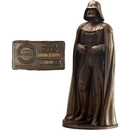 Darth Vader-statyn i brons